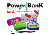 POWER BANK CON FORMA PERSONALIZZATA