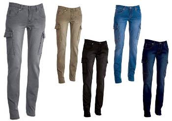 autentica di fabbrica all'ingrosso online scegli genuino pantalone jeans donna con tasconi hummer
